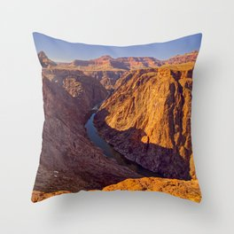 Grand Canyon viewed from Plateau Point Throw Pillow