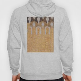 Gustav Klimt - Choir of Angels (Chor Der Paradiesengel) Hoody
