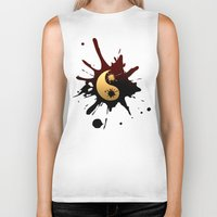 ying yang Biker Tanks featuring Ying-Yang by Jessica Jimerson