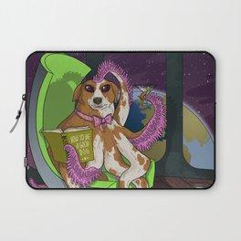 Extraterrestrial Dog Laptop Sleeve