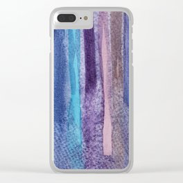 Abstract No. 380 Clear iPhone Case