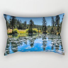 By The Lake Rectangular Pillow