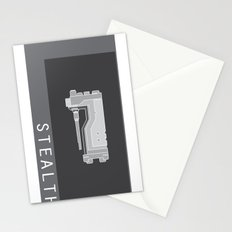 STEALTH Stationery Cards