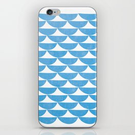 white tents iPhone Skin