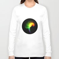 parrot Long Sleeve T-shirts featuring Parrot by Klara Acel