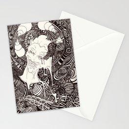 party face joker Stationery Cards