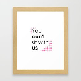 ITS PINK DAY Framed Art Print