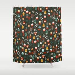 Sweet little Christmas Shower Curtain