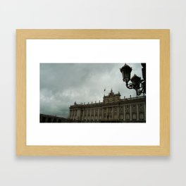 Palacio Real Framed Art Print