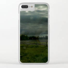 Nebraska Field Clear iPhone Case