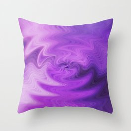 Purple daze 9 Throw Pillow