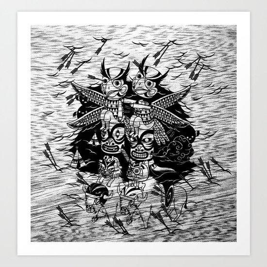 The Myth of Totummy Art Print