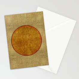 """Golden Circle Japanese Inspiration"" Stationery Cards"