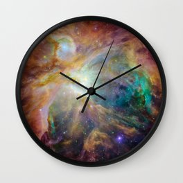 View of Orion Nebula Wall Clock