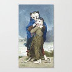 L'Opossums Canvas Print
