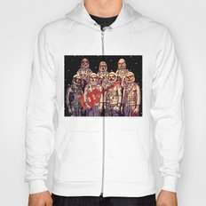 Astronauts with Guitar Hoody