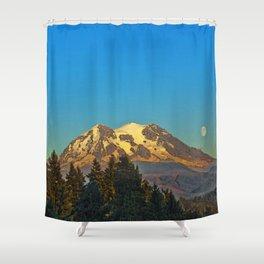 October Moonrise Shower Curtain