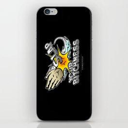 Slap your bitchness iPhone Skin