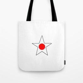 Flag of japan 4 Tote Bag