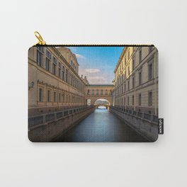 Winter Canal Saint Petersburg Carry-All Pouch