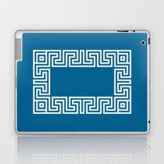 Greek Key blue Laptop & iPad Skin