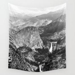Vernal Falls and Nevada Falls in Yosemite National Park, California, 1901 Wall Tapestry