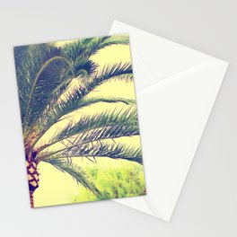 Summer feeling, palm trees in the south Stationery Cards