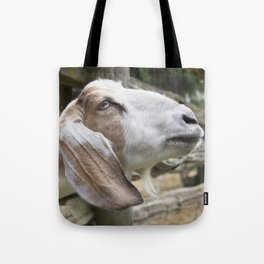 Goat Photography | Farm Animals | Nature Art | Rustic Wall Art | Cottage Decor Tote Bag