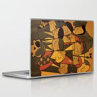 the goonies Laptop & iPad Skins featuring The Goonies by Ale Giorgini