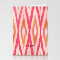 diamonds Stationery Cards featuring DIAMONDS by pattern paint