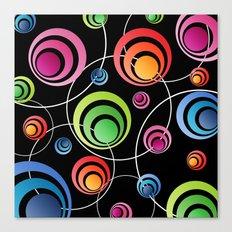 Circles In Circles. Canvas Print
