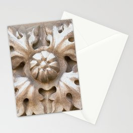 carved stone Stationery Cards