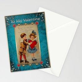 Valentine's Day Vintage Card 097 Stationery Cards