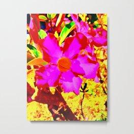 Flowermazing Design Metal Print
