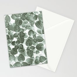 Leaf Pattern Photography Stationery Cards
