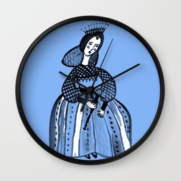 Mary Queen of Scots Wall Clock