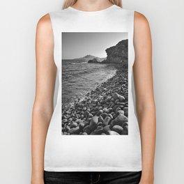 Carnaje Beach. Bw Biker Tank