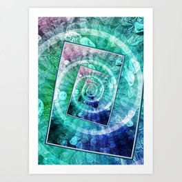 Spinning Nickels Into Infinity Art Print