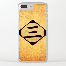 gothe 13 Clear iPhone Case