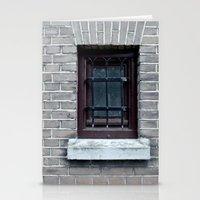 window Stationery Cards featuring Window by Marieken