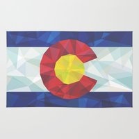 colorado Area & Throw Rugs featuring Colorado by Fimbis