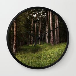 Forest Wander Wall Clock