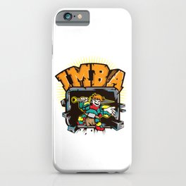 Imba - imbalanced. T-Shirt For Gamers And Those Who Knows What Imba Means Game Gamer Computer Sport iPhone Case
