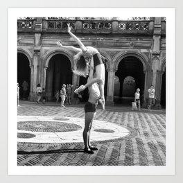 Ballet in the Park Art Print