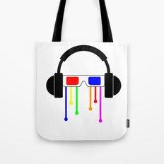 Technicolor tears  Tote Bag
