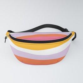 cali beach stripes Fanny Pack