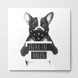 Rebel dog Metal Print