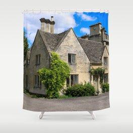 19th Century Grade II House on the Bathhurst Estate Shower Curtain
