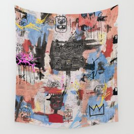 Play Play Play Wall Tapestry