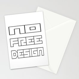 NoFreeDesign Stationery Cards